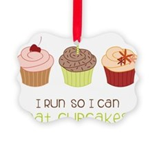 Eat Cupcakes Ornament