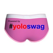 powered by yoloswag Women's Boy Brief