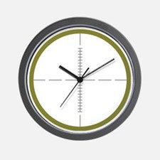 Army Scope Wall Clock