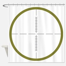 Army Scope Shower Curtain