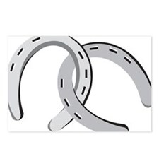 Horseshoes Postcards (Package of 8)