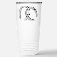 Horseshoes Stainless Steel Travel Mug