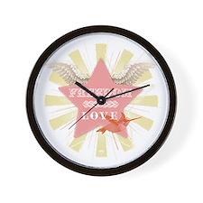 FreedomStar Wall Clock