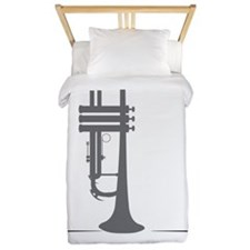 Trumpets Kick Brass Twin Duvet
