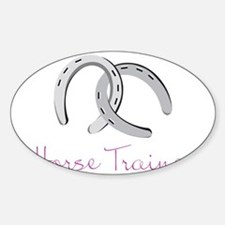 Horse Trainer Decal