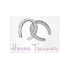 Horse Trainer 5'x7'Area Rug
