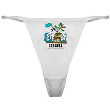 Cartoon Seagull by Lorenzo Classic Thong