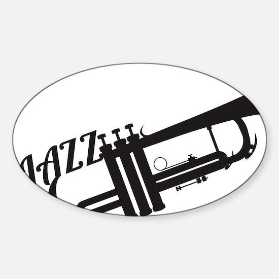 Jazz Sticker (Oval)