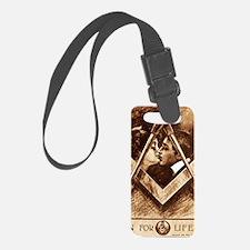 Masonic Valentine Anniversary or Luggage Tag