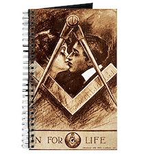 Masonic Valentine Anniversary or Wedding C Journal
