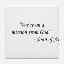 The Blues Brothers - Joan of Arc Tile Coaster