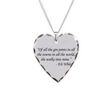Casablanca - Eli Whitney Necklace