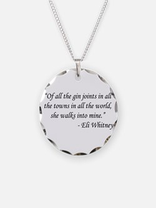 Casablanca - Eli Whitney Necklace