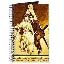 Freemason Valentine Wedding or Anniversary Journal