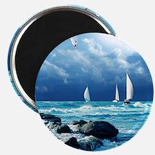 Ocean Sailing Magnet