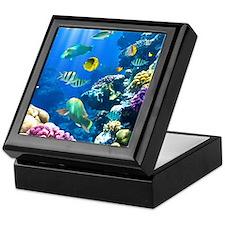 Ocean Life Keepsake Box