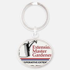 Guilford County EMG Logo Oval Keychain