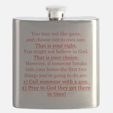 Pro Gun Quote Flask