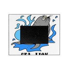 Cartoon Sea Lion by Lorenzo Picture Frame