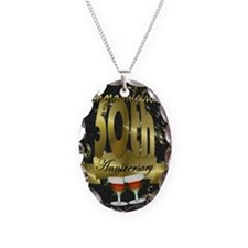 50th anniversary congradulatio Necklace