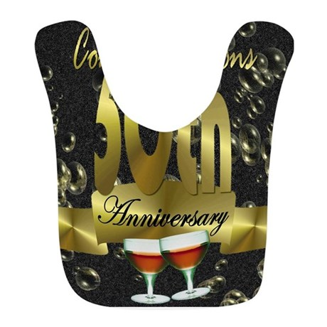 50th anniversary congradulations Bib