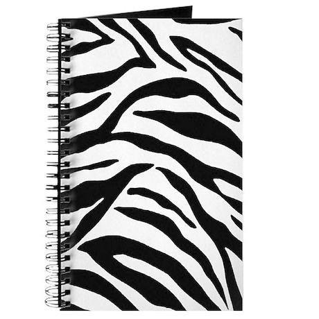 Zebra Stripes Journal