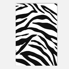 Zebra Stripes Postcards (Package of 8)