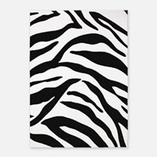 Zebra Stripes 5'x7'Area Rug