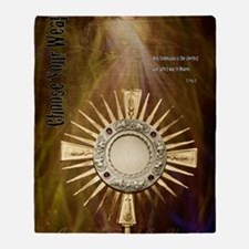 Echarist: Spiritual Warfare Throw Blanket