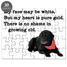 Old Black Lab Puzzle