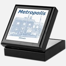 Metropolis_12x12_GiantSuperman_Blue Keepsake Box