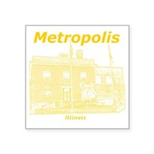 "Metropolis_12x12_GiantSuper Square Sticker 3"" x 3"""