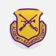"Academy of Richmond County 3.5"" Button"