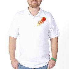 Softball Fire T-Shirt