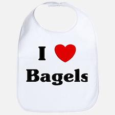 I love Bagels Bib