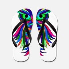 Owl Design Flip Flops