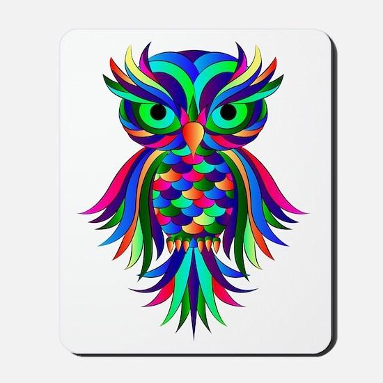 Owl Design Mousepad