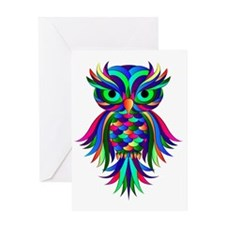 Owl Design Greeting Card