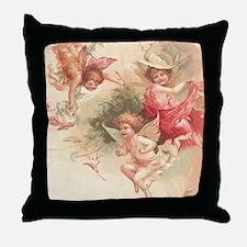 Cupid Angel 3 Throw Pillow