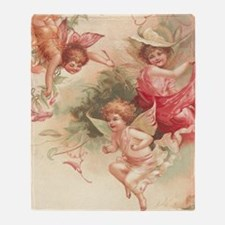 Cupid Angel 3 Throw Blanket