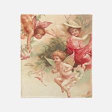 Cupid Angel 3 Throw Blanket