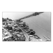 1960s Beaufort SC Downtown by  Decal