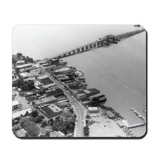 1960s Beaufort SC Downtown by Air Mousepad