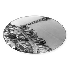 1960s Beaufort SC Downtown by Air Decal