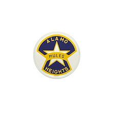 Alamo Heights Mules Mini Button