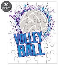 Volleyball Splatter Puzzle