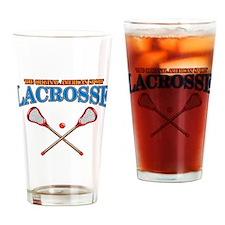 Lacrosse Original Americas Sport Drinking Glass