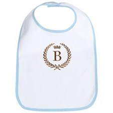 Napoleon initial letter B monogram Bib