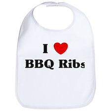 I love BBQ Ribs Bib
