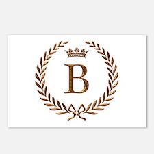 Napoleon initial letter B monogram Postcards (Pack